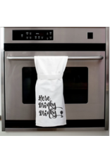 Flour Sack Towel, Here Drinky Drinky