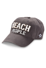 Beach People Ball Hat, grey