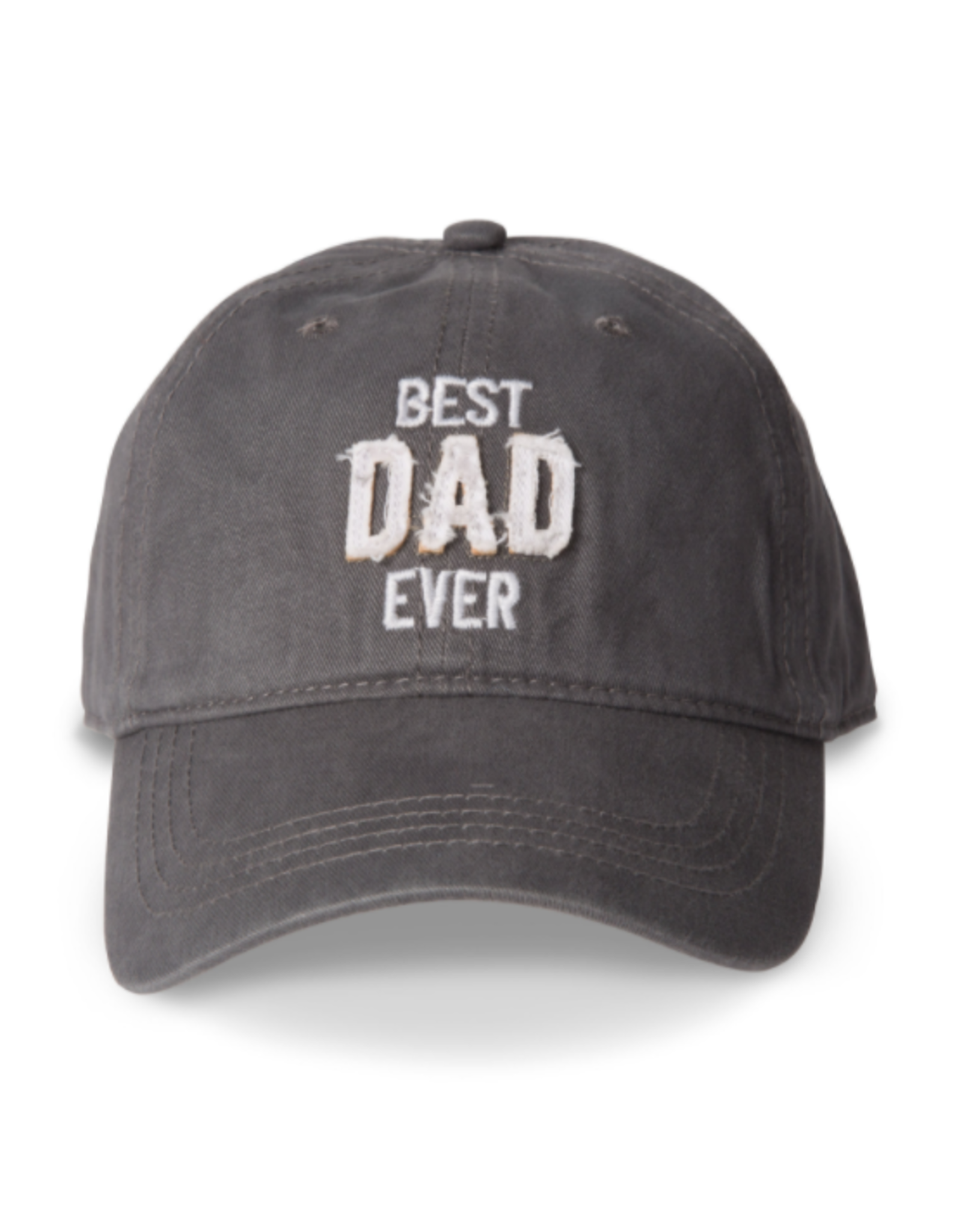 Best Dad Ever Ball Hat, grey