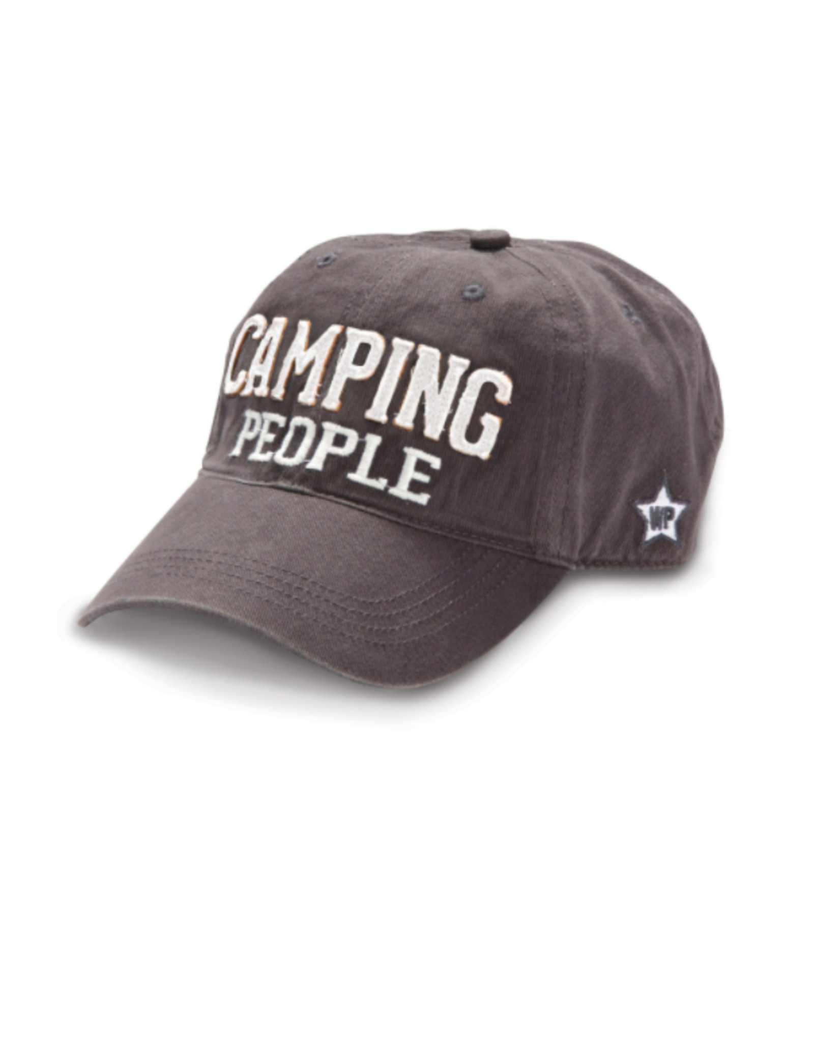 Camping People Ball Hat, grey