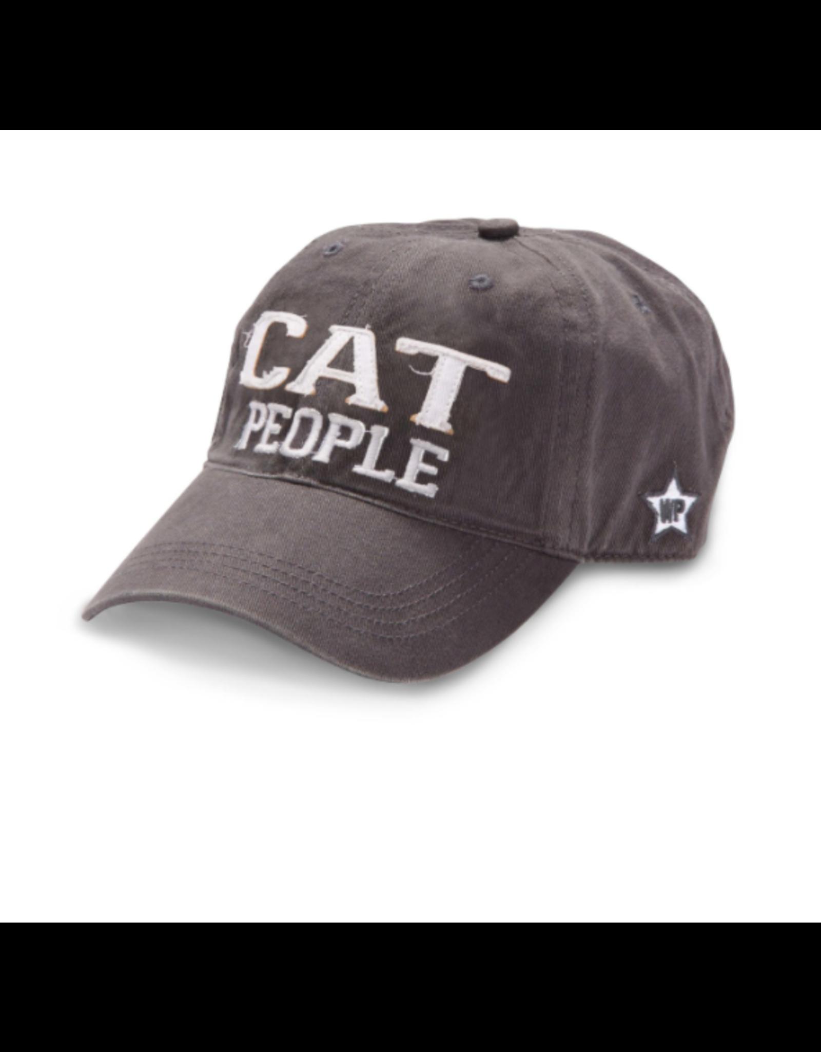 Cat People Ball Hat, grey
