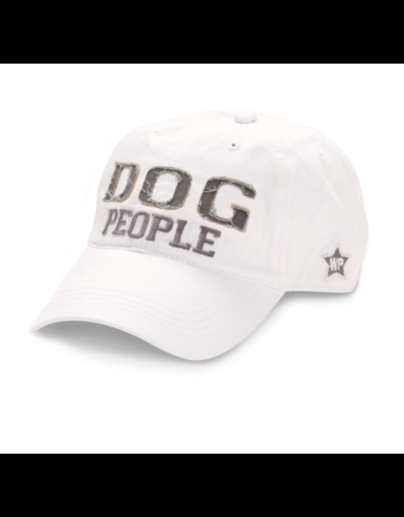 Dog People Ball Hat, white