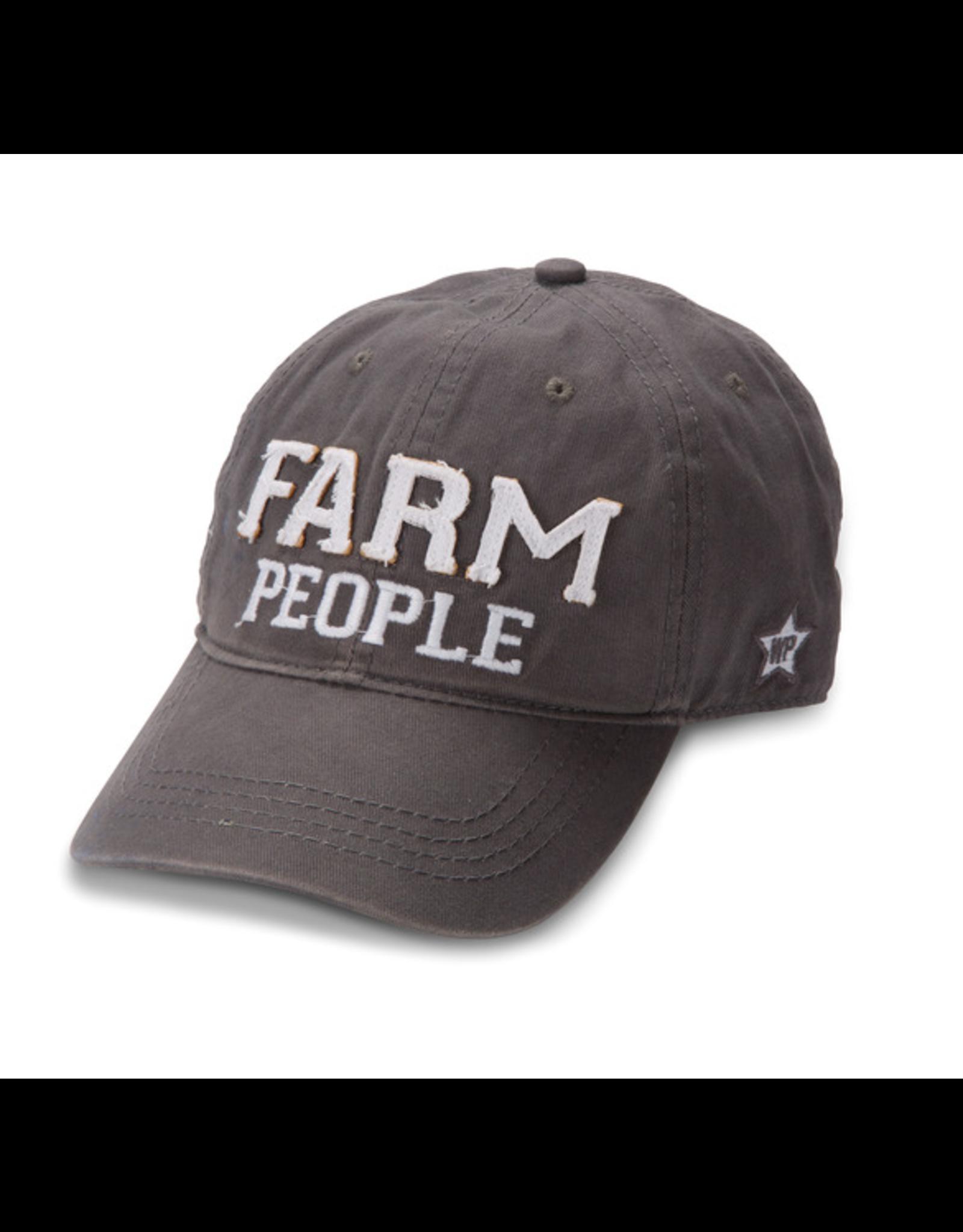 Farm People Ball Hat, grey