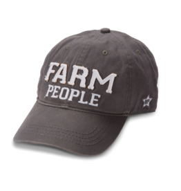 Farm People Ball Hat, grey