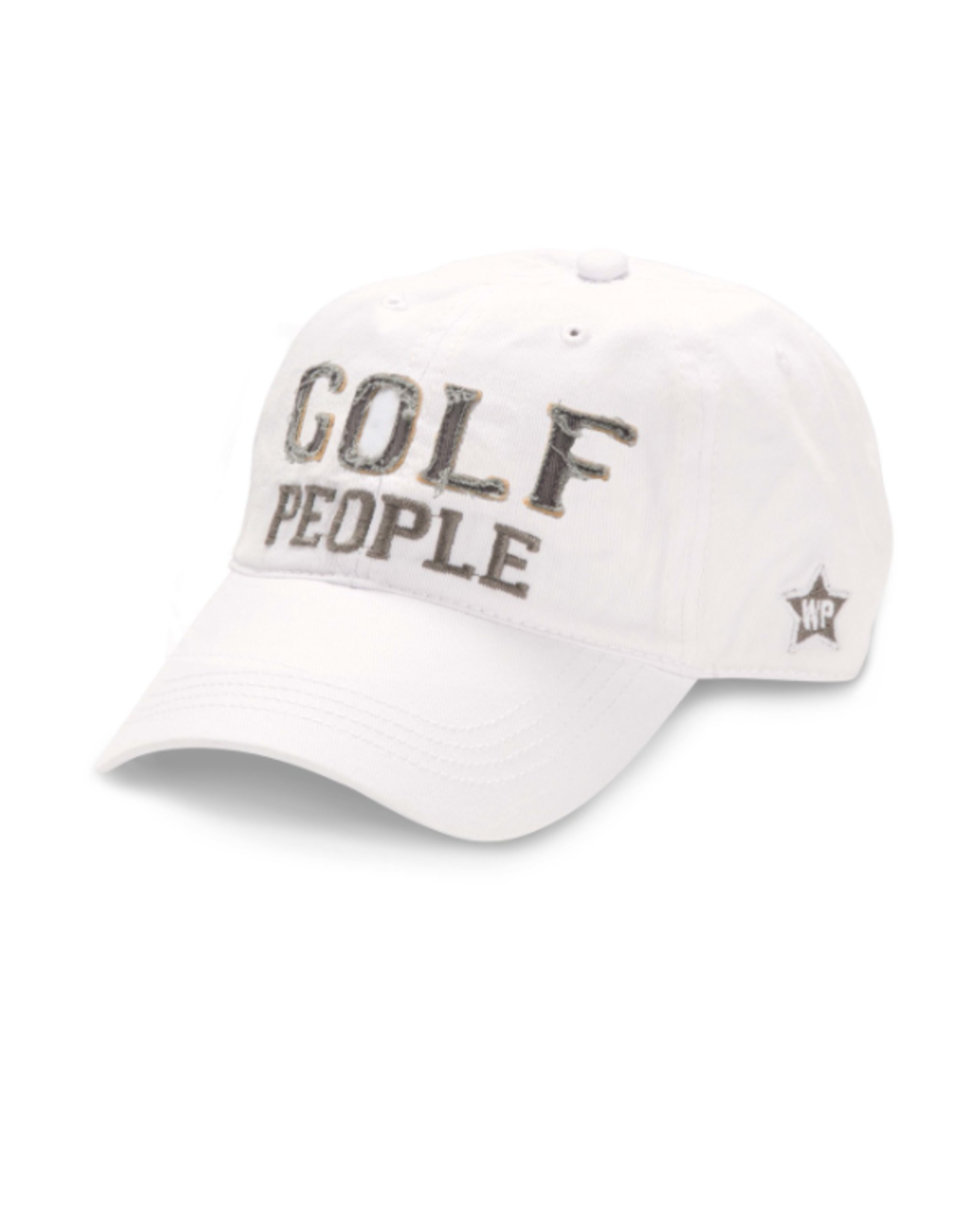 Golf People Ball Hat, white