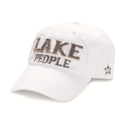 Lake People Ball Hat, white