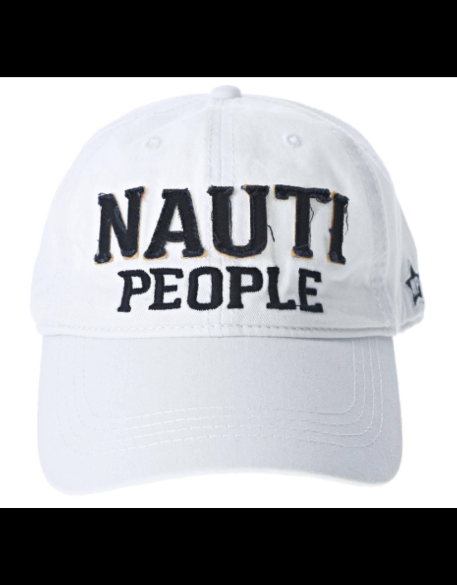 Nauti People Ball Hat, white