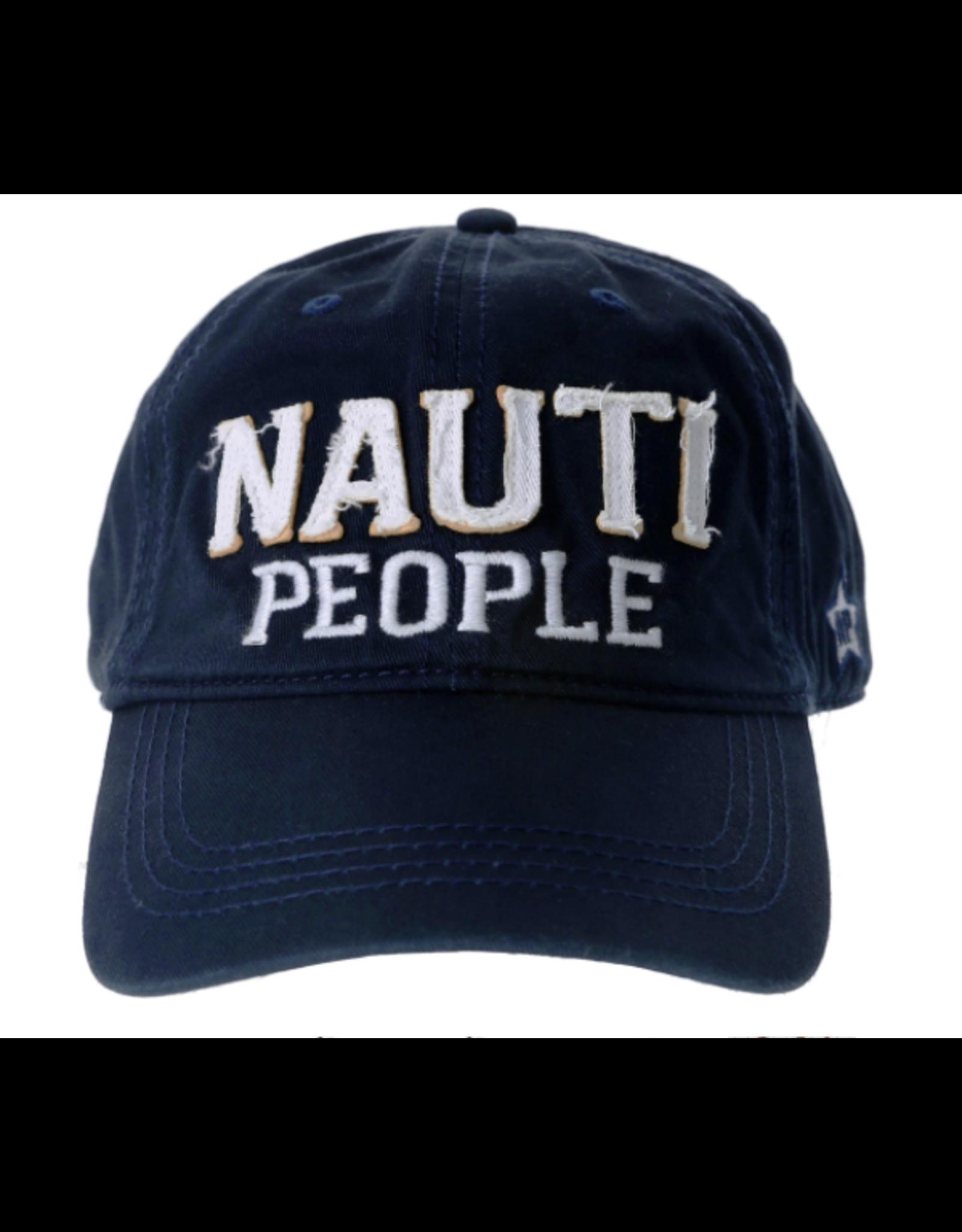 Nauti People Ball Hat, navy