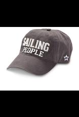 Sailing People Ball Hat, grey