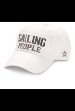 Sailing People Ball Hat, white