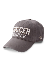 Soccer People Ball Hat, grey