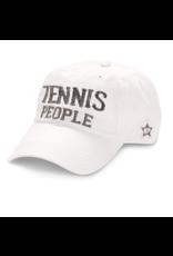 Tennis People Ball Hat, white