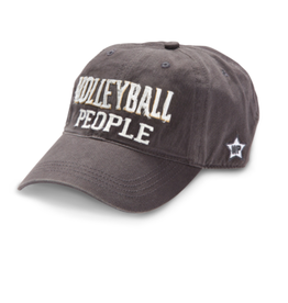 Volleyball People Ball Hat, grey