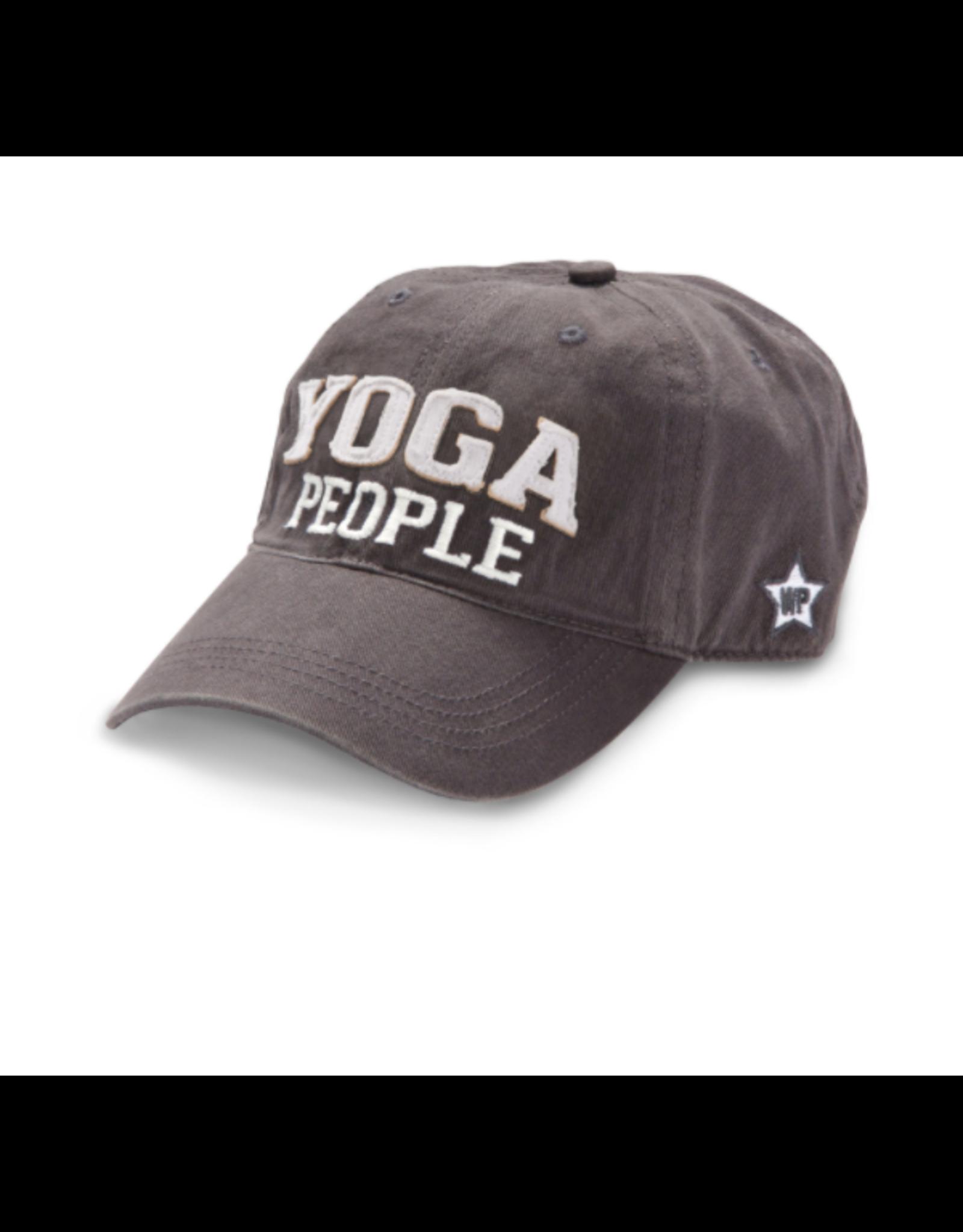 Yoga People Ball Hat, grey