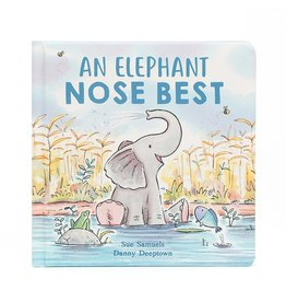 Jellycat Book, An Elephant Nose Best