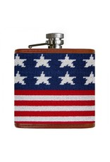 Smathers & Branson Old Glory Needlepoint Flask