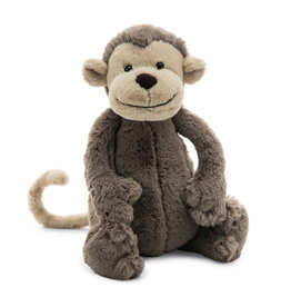 Jellycat Bashful Brown Monkey