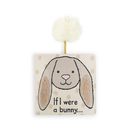 Jellycat Book, If I Were A Bunny (beige)