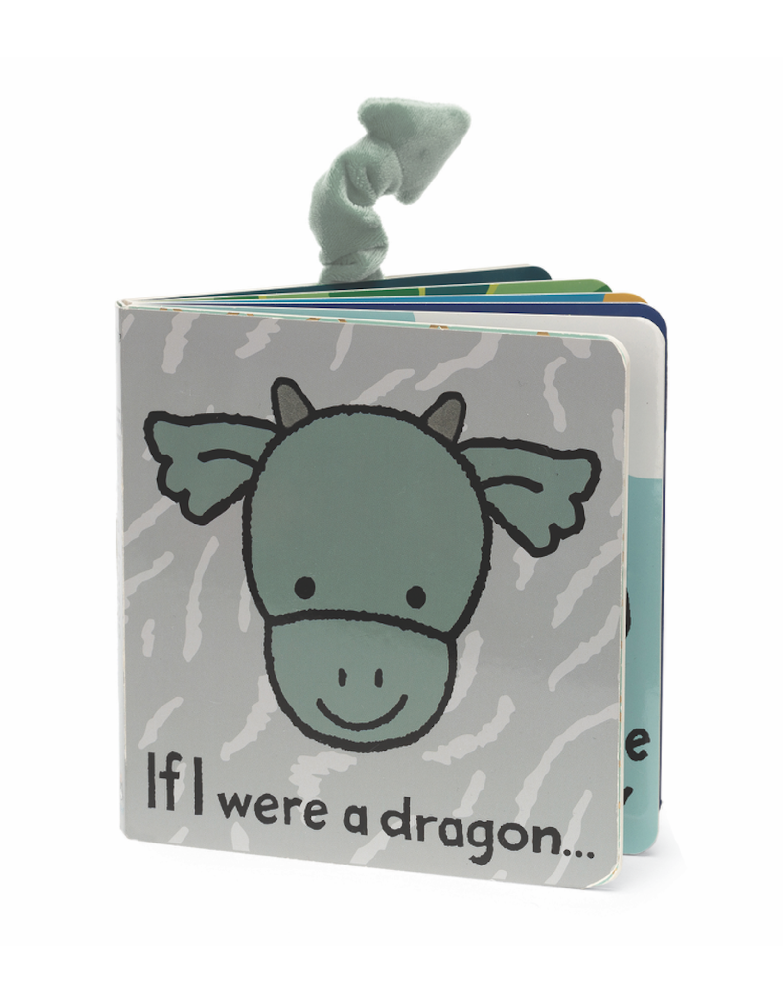 Jellycat Book, If I Were A Dragon