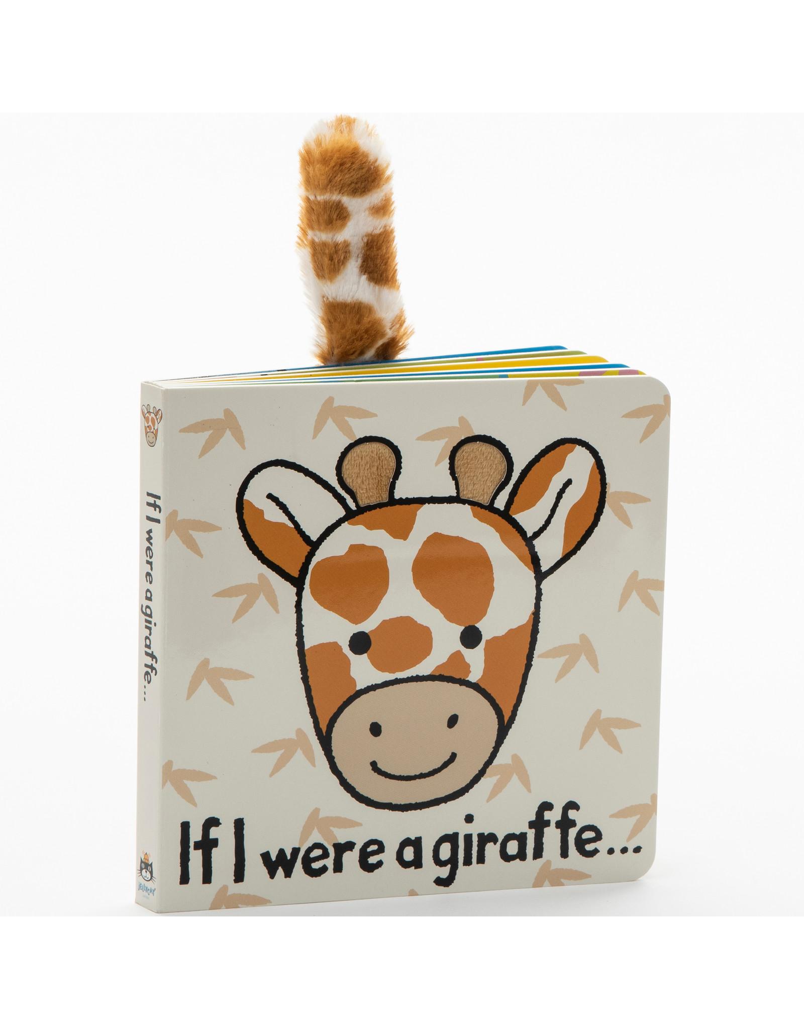 Jellycat Book, If I were a Giraffe