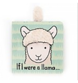 Jellycat Book, If I Were A Llama