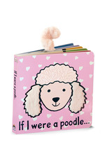 Jellycat Book, If I Were a Poodle, blush