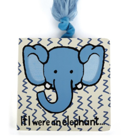 Jellycat Book, If I Were An Elephant