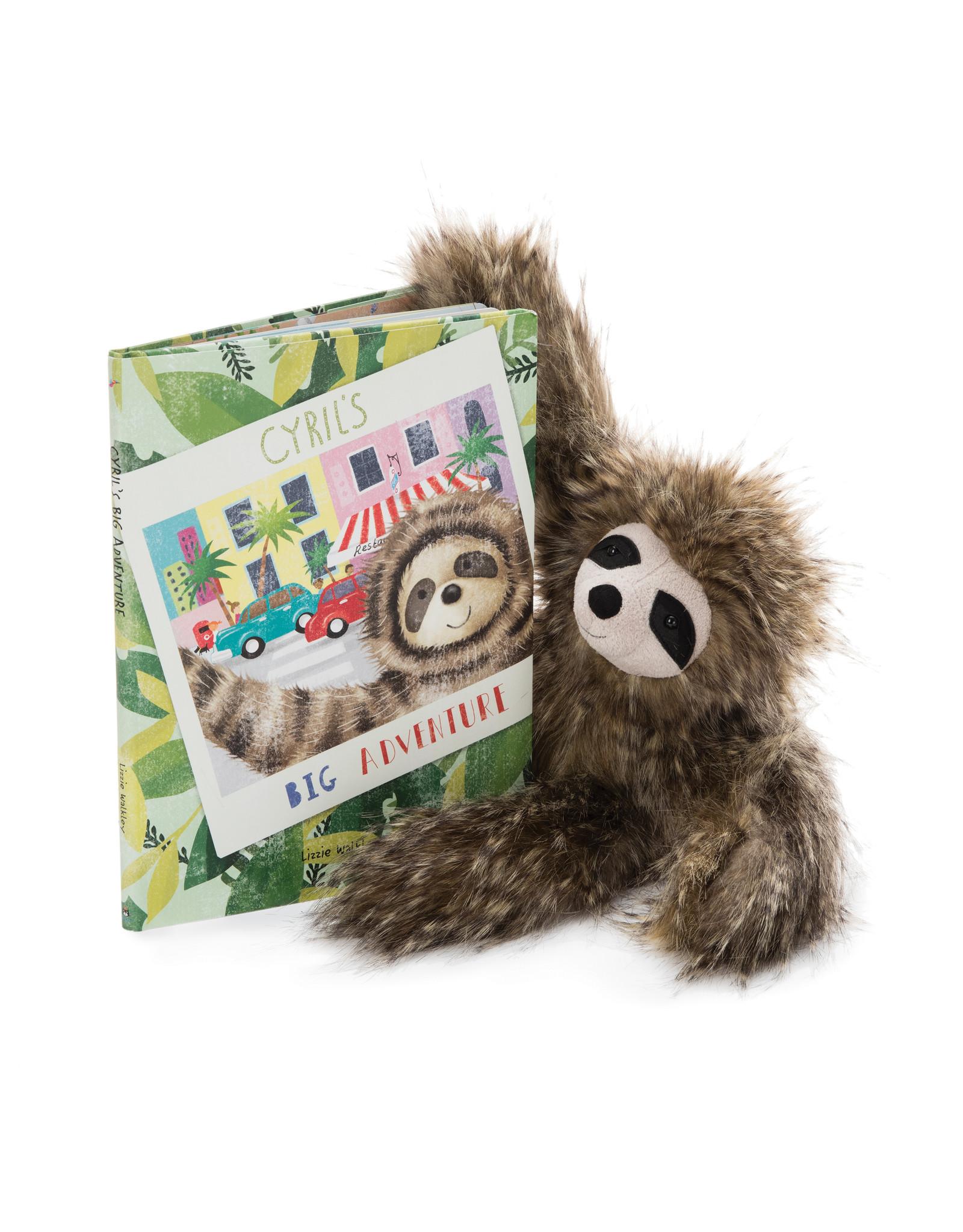 Jellycat Book, Cyril's Big Adventure