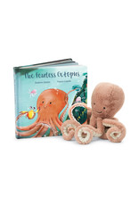 Jellycat Book, The Fearless Octopus