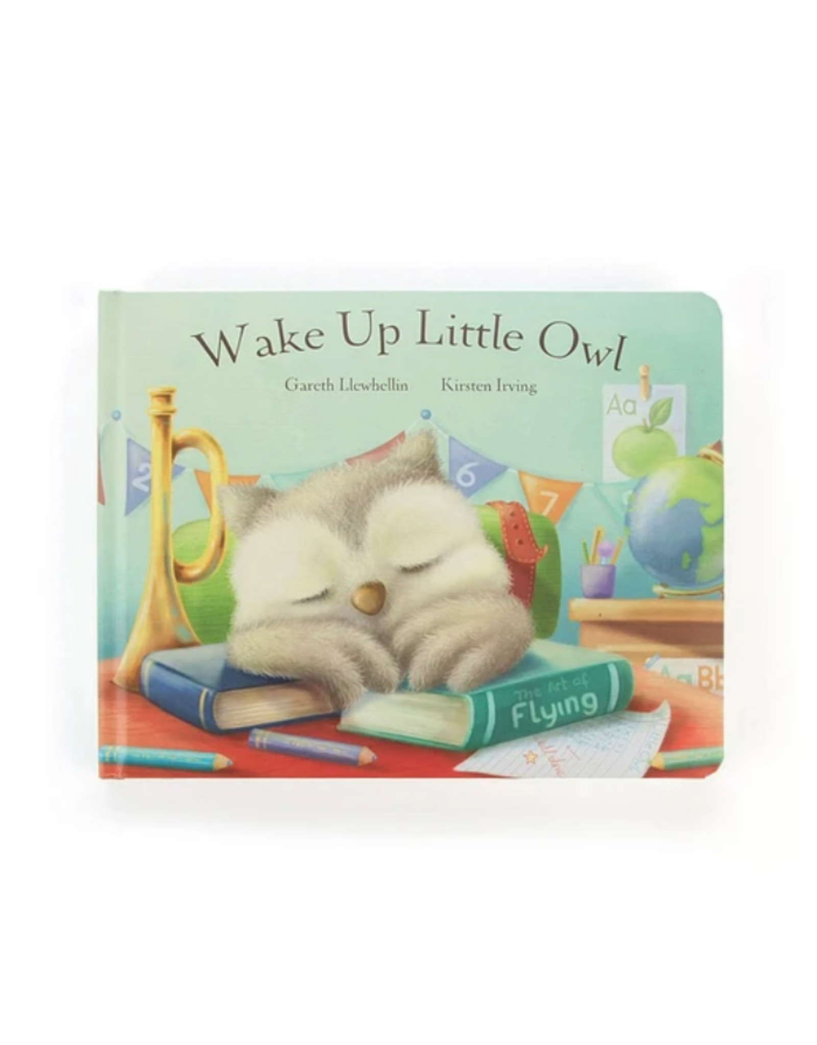 Jellycat Book, Wake Up Little Owl