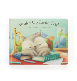 Jellycat Book, Wake Up Little Owl