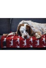 Fleece Dog Blanket 30x40 Red Icon