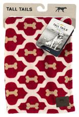Fleece Dog Blanket, 20x30, red bone