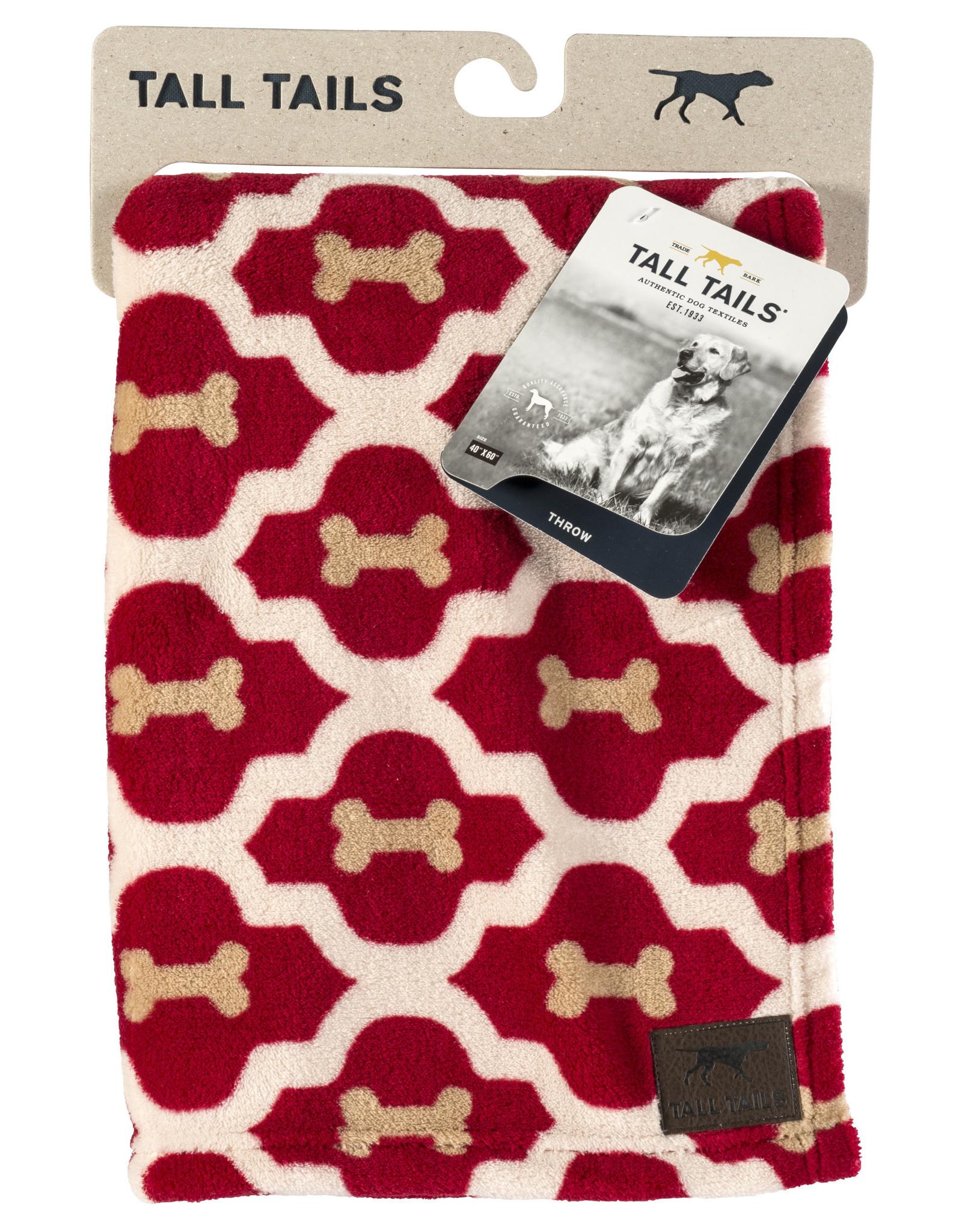 Fleece Pet Blanket, red bone