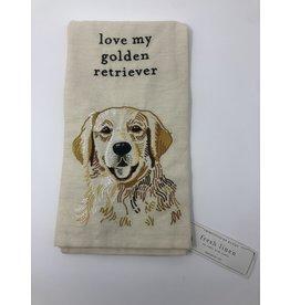 Dish Towel- Golden Retriever