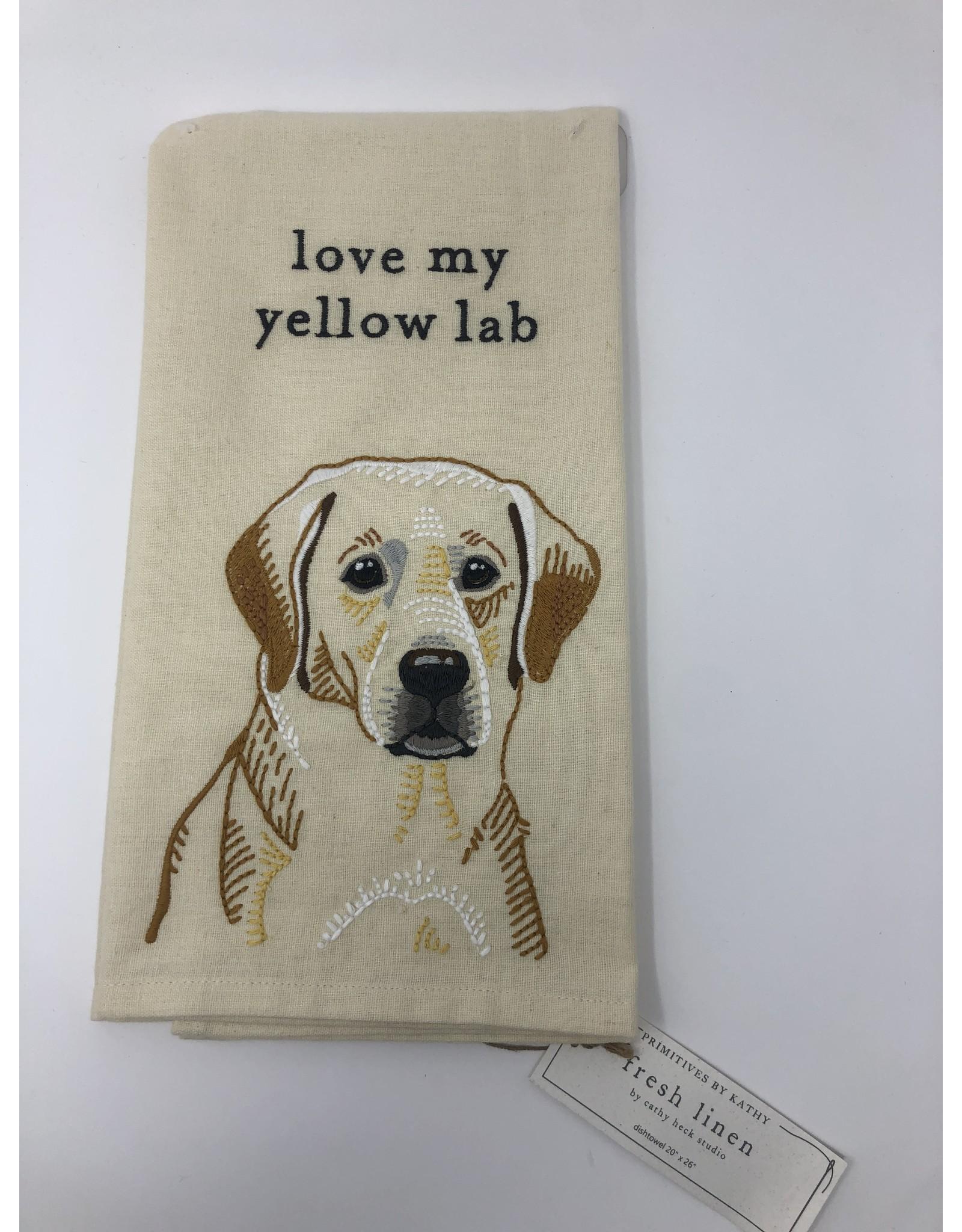 Dish Towel- Yellow Lab