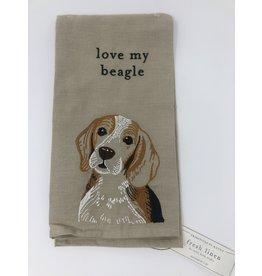 Dish Towel- Beagle