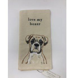 Dish Towel- Boxer