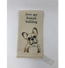 Dish Towel- French Bulldog