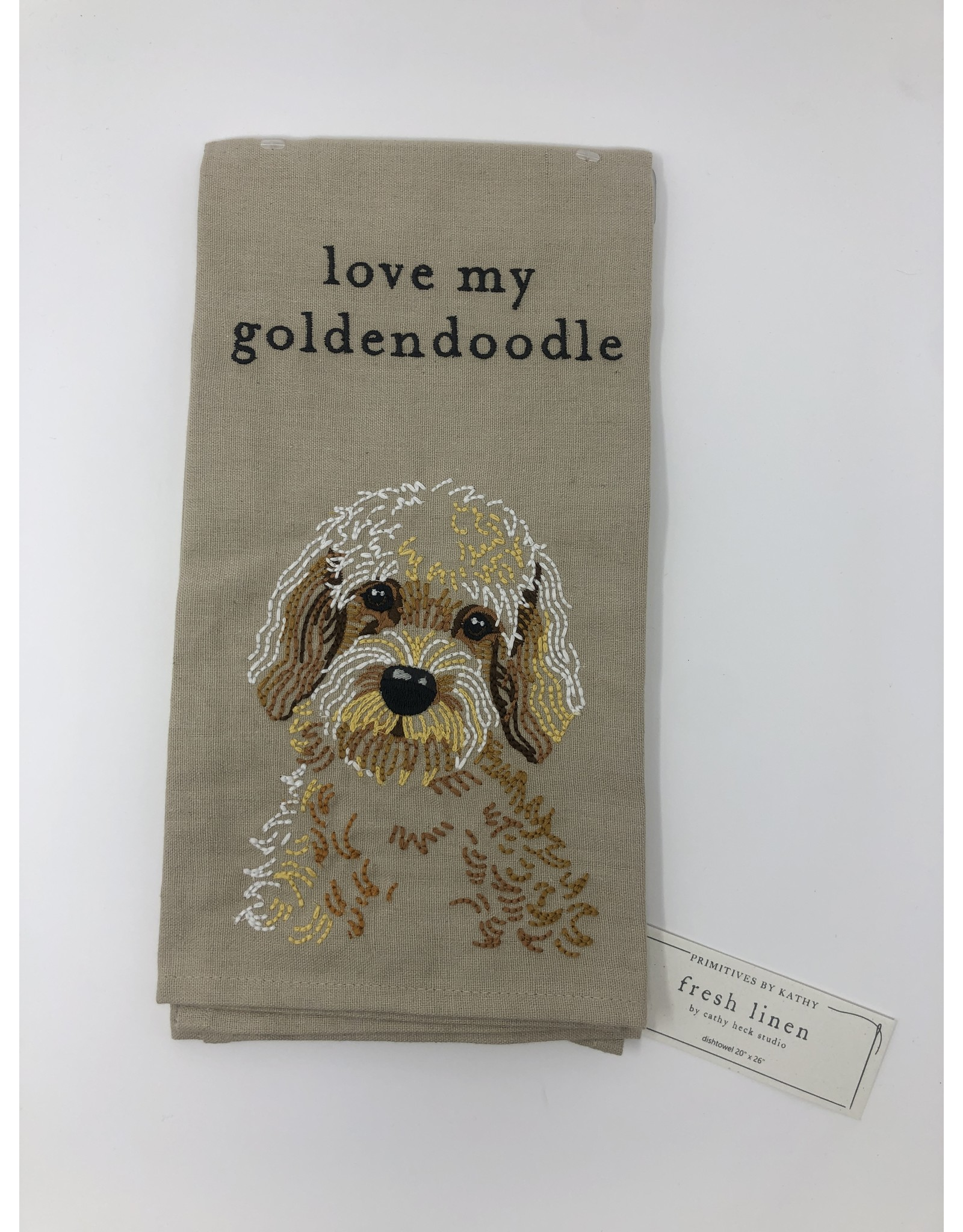 Dish Towel- Goldendoodle