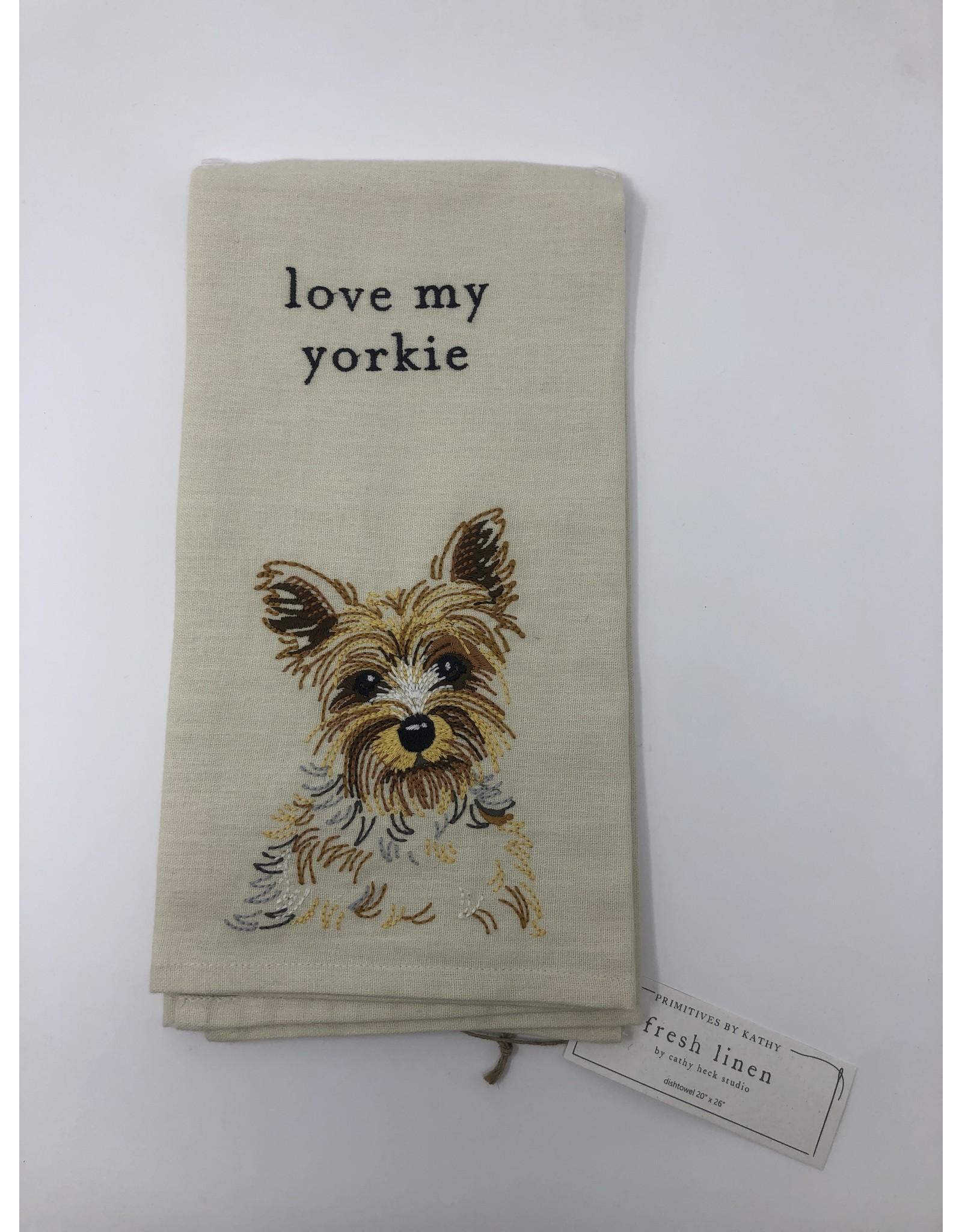 Dish Towel- Yorkie