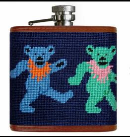 Smathers & Branson S&B Flask, Dancing Bears