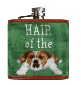 Smathers & Branson S&B Flask, Hair of the Dog (sage background)