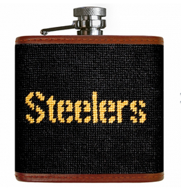 Smathers & Branson S&B Flask, Pittsburgh Steelers