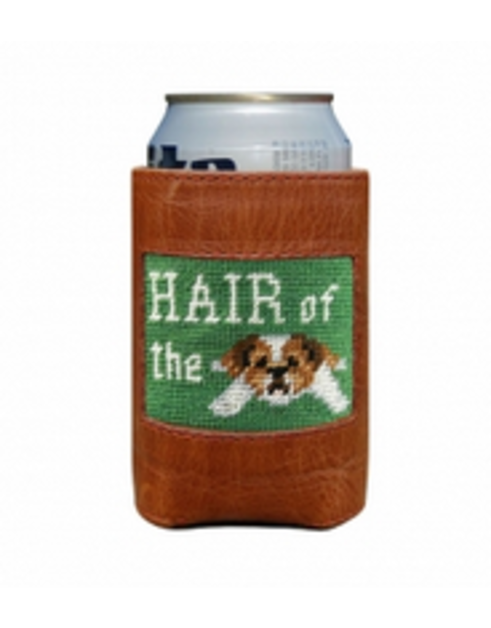 Smathers & Branson S&B Needlepoint Can Cooler, Hair of the Dog