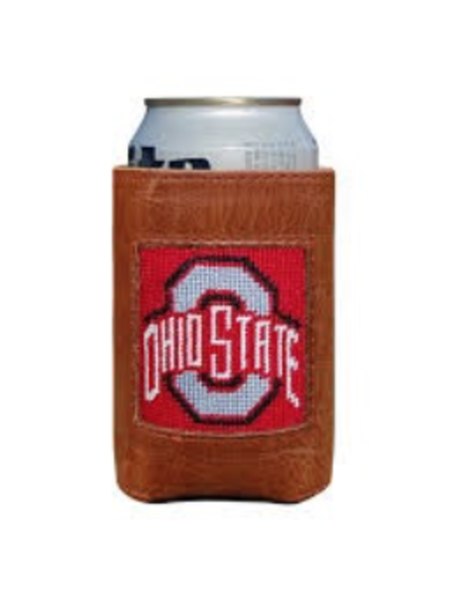 Smathers & Branson S&B Needlepoint Can Cooler, Ohio State