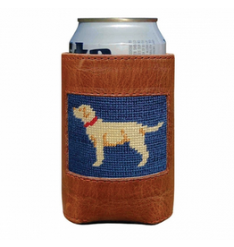 Smathers & Branson S&B Needlepoint Can Cooler, Yellow Lab