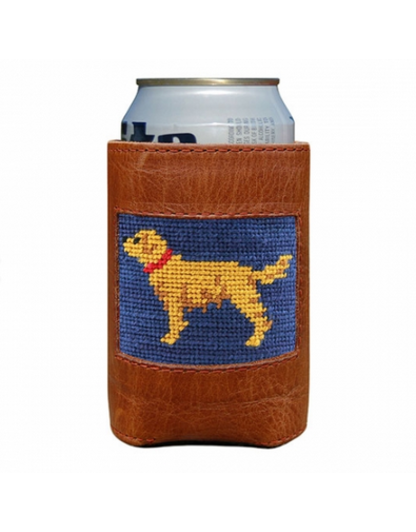 Smathers & Branson S&B Needlepoint Can Cooler, Golden Retriever