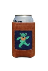 Smathers & Branson S&B Needlepoint Can Cooler, Dancing Bear