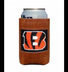 Smathers & Branson S&B Needlepoint Can Cooler, Cincinnati Bengals